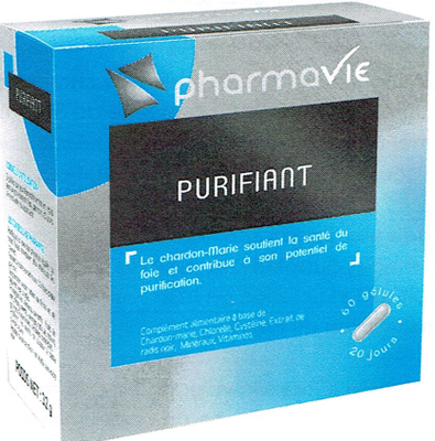 PHARMAVIE PURIFIANT 60 GELULES