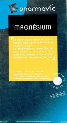 PHARMAVIE MAGNESIUM 60 COMPRIMES