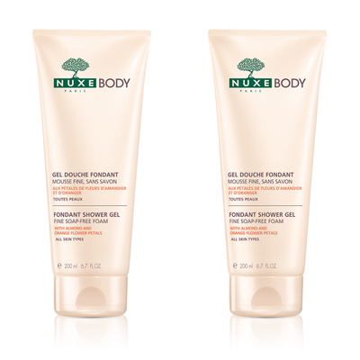 NUXEBODY GEL DOUCHE FONDANT DUO 2X200ML