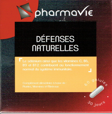 PHARMAVIE DEFENSES NATURELLES 60 GELULES