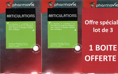PHARMAVIE ARTICULATIONS LOT DE 3 BOITES