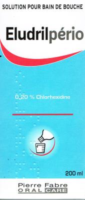 ELUDRILPERIO 0,2% BAIN BOUCH 200ML