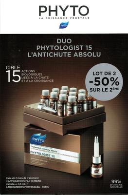 PHYTOLOGIST DUO -50% 2EME BOITE