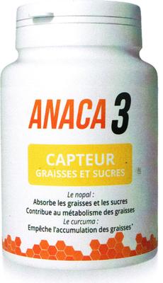 ANACA3 CAPTEUR GRAISSES SUCRES 90 GELULES