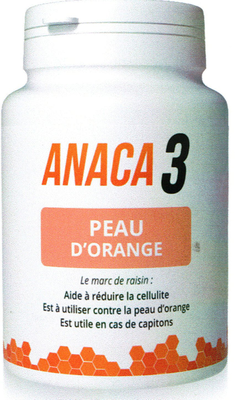 ANACA3 PEAU ORANGE 90 GELULES