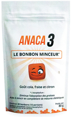 ANACA3 BONBONS MINCEUR 30 BONBONS