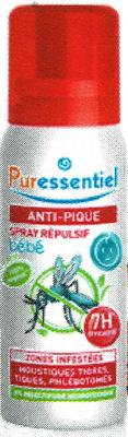 PURESSENTIEL ANTI-PIQUE BEBE 60ML