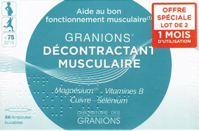 GRANIONS DECONTRACTANT MUSCULAIRE 60 AMP2ML