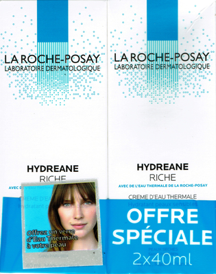 HYDREANE RICHE CR HYDR TUB DUO 2x40ML