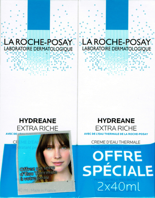 HYDREANE EXT/RICHE CR HYD DUO 2X40ML