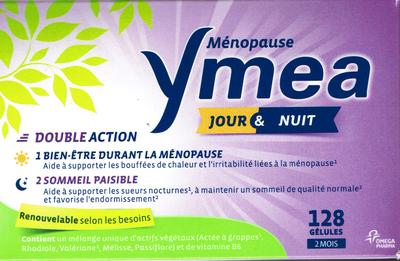 YMEA MENOPAUSE JR/NUIT 128 GELULES