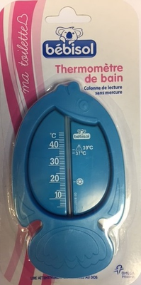 THERMOMETRE BAIN BEBISOL POISSON
