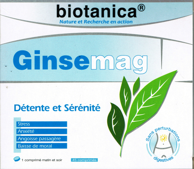 BIOTANICA GINSEMAG 45 CPR