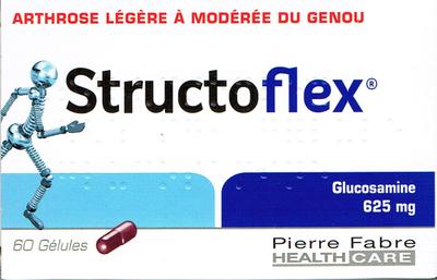 STRUCTOFLEX 625MG GELULE 60