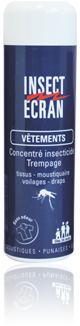 INSECT ECRAN TREMPAGE VETEMENTS 200ML