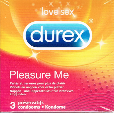 PRESERV PLEASURE MAX DUREX 3