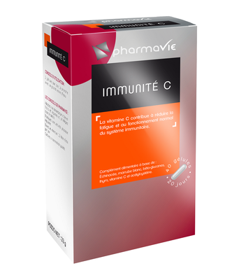 PHARMAVIE IMMUNITE C 40 GELULES