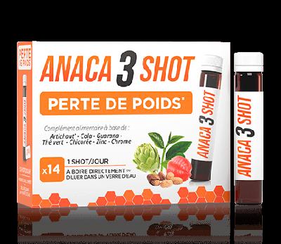 ANACA 3 SHOT PERTE DE POIDS 24 FLACONS