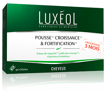 LUXEOL POUSSE CROISS/FORTIF 90 GELULES