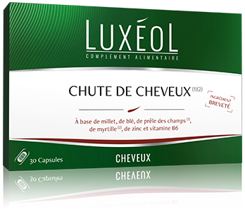 LUXEOL CHUTE CHEVEUX 30 CAPS