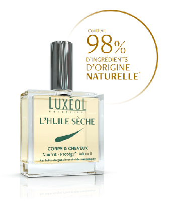 LUXEOL HUILE SECHE CORPS  CHEVEUX 100ML