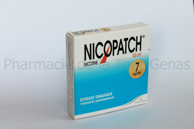 NICOPATCH 7 PATCHS 7MG/24H