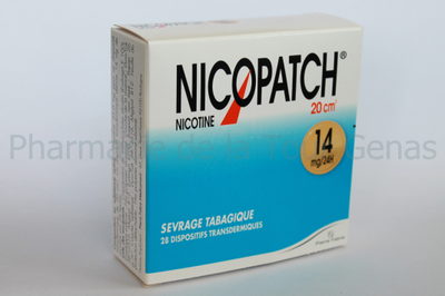 NICOPATCH 28 PATCHS 14MG/24H
