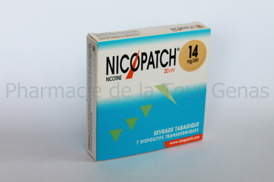 NICOPATCH 7 PATCHS 14MG/24H