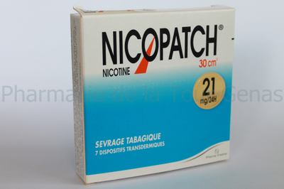 NICOPATCH 7 PATCHS 21MG/24H