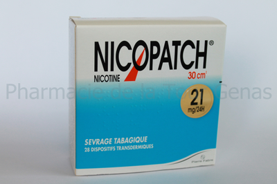 NICOPATCH 28 PATCHS 21MG/24H