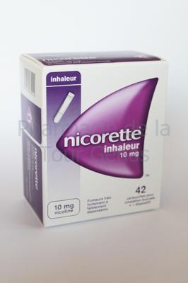 NICORETTE 10MG INHALEUR  42 CARTOUCHES