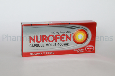 NUROFEN 400MG 10 CAPS