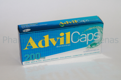 ADVILCAPS 200MG 16 CAPSULES