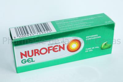 NUROFEN 5% GEL TUBE 50G