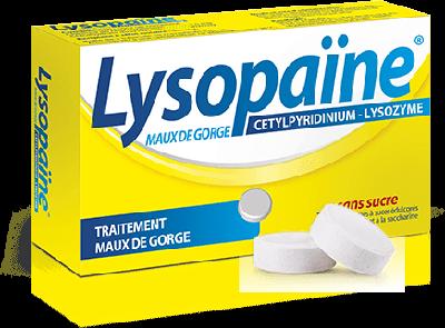 pharmacie de la tour genas lysopaine 36 cpr a sucer sans sucre. Black Bedroom Furniture Sets. Home Design Ideas