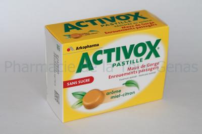 ACTIVOX MIEL CITRON 24 PAST S/S