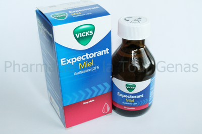 VICKS SIROP EXPECTORANT GAIAFENESINE 120ML