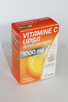 VIT C 1 000MG UPSA 20 CPR EFFERVESCENTS