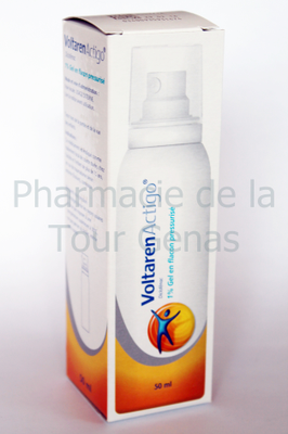 VOLTARENACTIGO 1% GEL FLACON DOSEUR 50ML