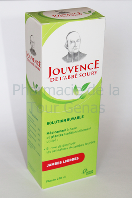 JOUVENCE ABBE SOURY SOLUTION BUV 210ML