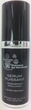 SERUM PUISSANT à l'ARGIRELINE -Pharmacie Marronniers 30ml