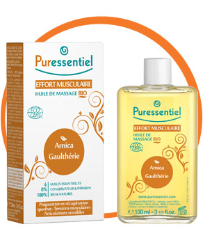 PURESSENTIEL HUILE MASSAGE EFFORT MUSCUL 100ml