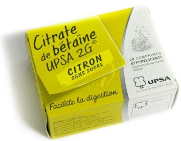 Pharmacie des Marronniers à LE CENDRE - Citrate De Betaine