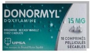 DONORMYL 15MG Comprimés à avaler Sécables bte de 10