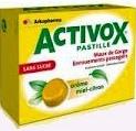 ACTIVOX MIEL CITRON PASTILLE SANS SUCRE Bte de 24