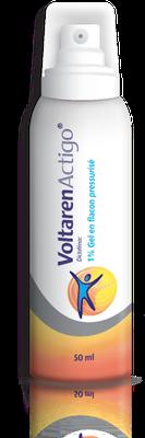 VOLTARENACTIGO 1% GEL Flacon Préssurisé 50ML