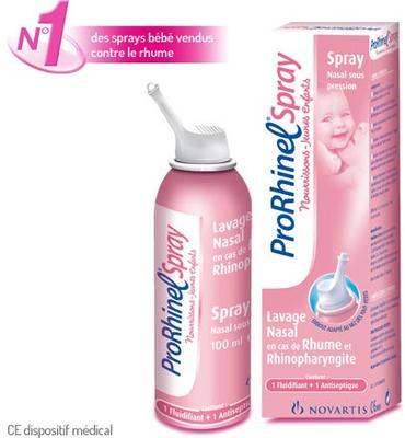 PRORHINEL SPRAY NOURRISSON/JEUNE ENFANT 100ML