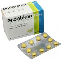 ENDOTELON 150MG Comprimés Bte de 60