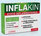 INFLAKIN contre ETATS INFLAMMATOIRES Comprimés Bte de 10