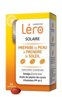 LERO SOLAIRE CAPULES LOT de 2 x 30caps